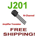 10 pcs OF J201 JFET N-Channel Amplifier Transistor - Free Shipping
