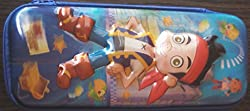 3D Fancy Large Pencil Box (Jake and the never Lands pirates)