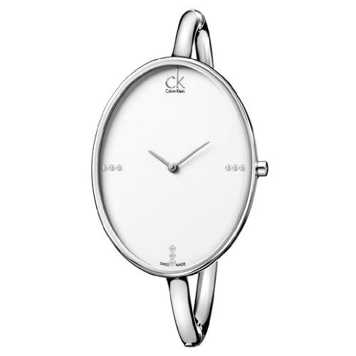 Calvin Klein de las mujeres de cuarzo reloj de pulsera para mujer Sartoria K3D2M11W