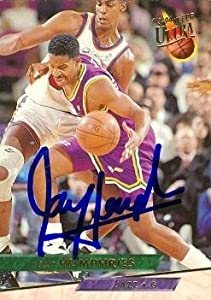 Jay Humphries Autographed Hand Signed Basketball Card (Utah Jazz) 1993 Fleer Ultra... by Hall of Fame Memorabilia