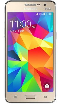 Samsung Galaxy Grand Prime Dual Sim Factory Unlocked Phone, International Version Retail Packaging, Gold