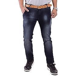 URBAN FAITH Boye's Black Plain Jeans