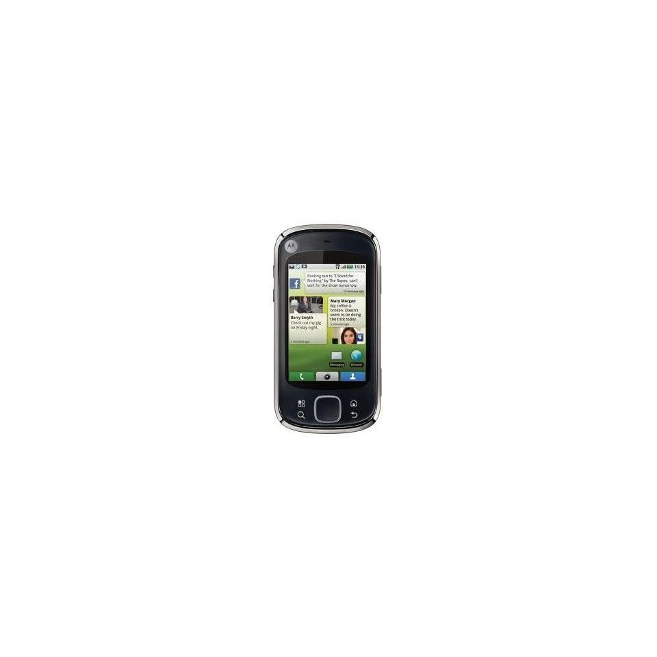 Motorola CLIQ XT MB501 Unlocked GSM Phone with Android OS, 5MP Camera, GPS, Wi Fi, Bluetooth and FM Radio   Black