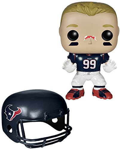 Funko POP NFL: Wave 1 - JJ Watt Action Figures