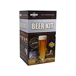 Mr. Beer Deluxe Edition Home Brewing Craft Beer Kit