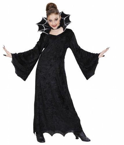 Widmann 41117 - Costume da Strega 'Spiderella' in Taglia 8/10 Anni