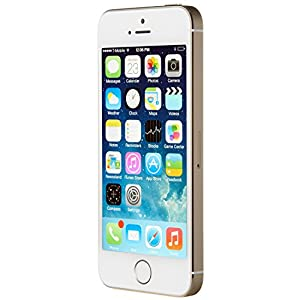 Apple iPhone 5S 16GB Factory Unlocked Smartphone, Gold (Certified Refurbished)
