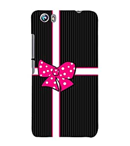 Gift Love Girly Girl 3D Hard Polycarbonate Designer Back Case Cover for Micromax Canvas Fire 4 A107