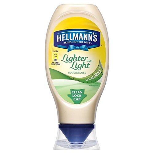 Est Plus Léger Que Squeezy Mayonnaise Légère 430Ml Hellmann