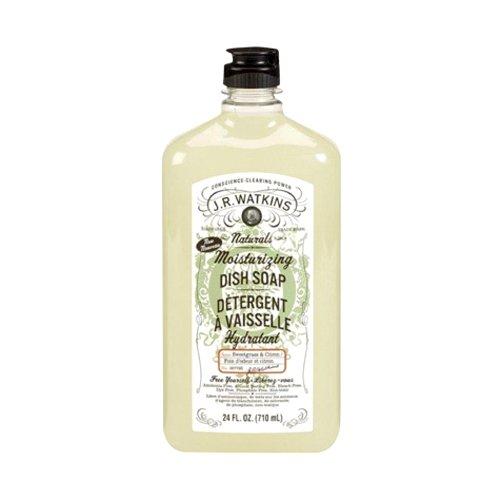 J.R. Watkins Dish Soap, Moisturizing, Sweetgrass and Citron, 24 Fluid Ounce (Watkins Dish compare prices)