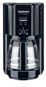 Cuisinart DCC-1000BK Filter Brew 12-Cup Programmable Coffeemaker, Black by Cuisinart