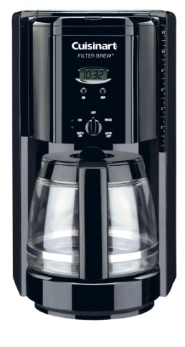 Cuisinart Coffee Maker Light On Wonot Brew : Deals Cuisinart DCC-1000BK Filter Brew 12-Cup Programmable Coffeemaker, Black - This Shopping