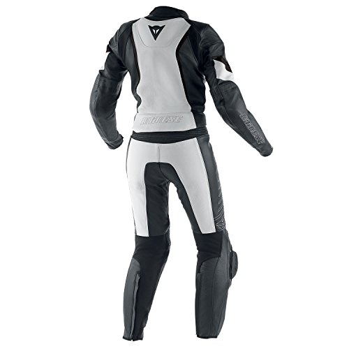 Dainese-Racing-2-PCS-ragazza-nerobianco