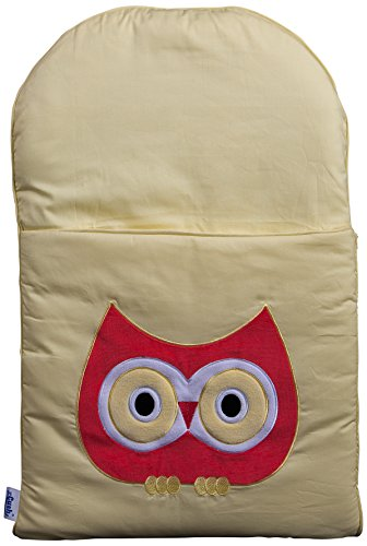 zCush Cotton Characters Nap Mat, Happy Hoot - 1
