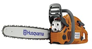 Husqvarna 455 Rancher 20-Inch 55-1/2cc 2-Stroke Gas-Powered Chain Saw (CARB Compliant)