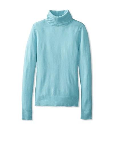 Cashmere Addiction Women's Turtleneck Cashmere Sweater