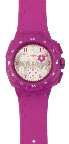 Swatch Originals Chrono Huyana Ladies Watch Pink Watch SUIP400