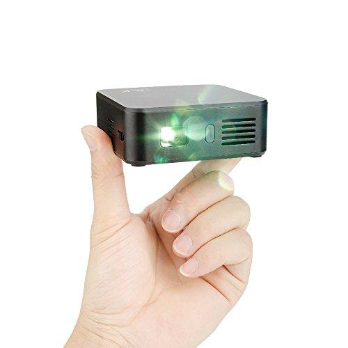 lightwish-black-wifi-dlp-mini-wireless-projector-home-cinema-with-remote-controller-mini-tripod-pack