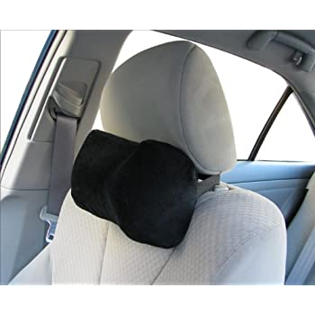 Car Neck Pillow (Soft Version)- Neck Pillow; Car Pillow; Memory Foam Neck Pillow; Neck Rest Pillow; Car Neck Pillow (Color: Black)