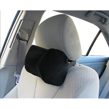 Car Neck Pillow (Soft Version)- Neck Pillow; Car Pillow; Memory Foam Neck Pillow; Neck Rest Pillow; Car Neck Pillow (Color: Black)