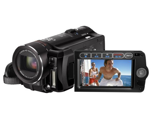 Canon HF10 High Definition Camcorder - 12x Optical Zoom With 2.7 inch Widescreen Multi-angle Vivid LCD