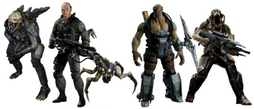 Resistance - Action Figure Series 1(Set of 4)