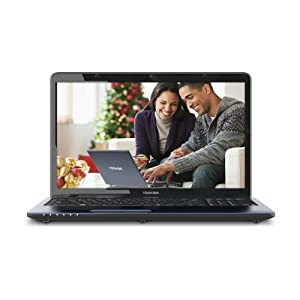 Toshiba Satellite L775D-S7330 17.3-Inch LED Laptop - Brushed Aluminum Blue