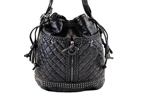 BeBe Rose Faux Leather Backpack