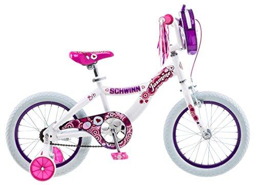 Schwinn Girl's Jasmine Bicycle, 16-Inch, White