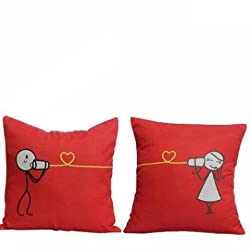 Cushion for Cute Couples,Cushion for girlfriend, Romantic Gifts, Gift for Girlfriend, Cushion for decoration