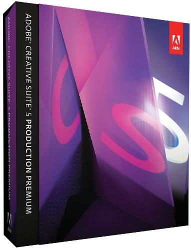 Adobe Creative Suite 5 Production Premium Upgrade from CS4 [Mac][OLD VERSION]