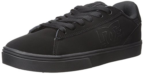 DC Men's Notch Skate Shoe, Black, 9 M US