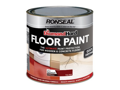 Ronseal DHFPTR25L 2.5L Diamond Hard Floor Paint - Tile Red