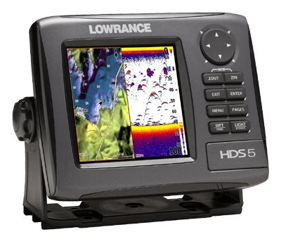 Lowrance Hds-5 Gen2 Plottersounder With 5-inch Lcd And Lake Insight Cartography Transducer Not Included from Lowrance