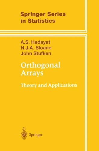 Orthogonal arrays. Theory and applications