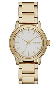 DKNY NY2272 Gold Bracelet White Dial Ladies Watch