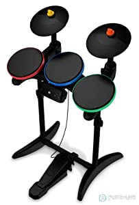 Buy Amazon.com: Guitar Hero 6 Warriors of Rock Wireless Drums for Xbox 360