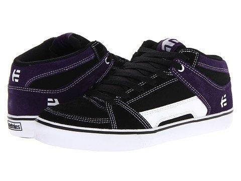 Etnies Rvm Mens Etnies Rvm Black White Purple