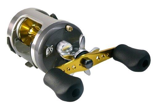 Baitcasting reel okuma akena round baitcast reel great for Musky fishing reels