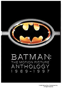 Batman The Motion Picture Anthology 1989-1997 Batman Batman Returns Batman Forever Batman Robin at Gotham City Store