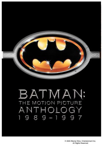 Cover art for  Batman: The Motion Picture Anthology 1989-1997 (Batman / Batman Returns / Batman Forever / Batman & Robin)