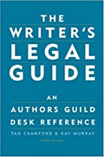 The Writer s Legal Guide by Tad Crawford