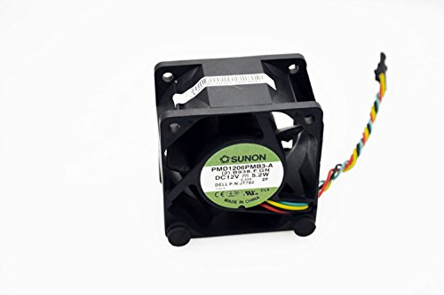 Sunon PMD1206PMB3-A (2).B938.F Cooling Fan 12V~.43Amp (5.2W) 60mm x 60mm x 38mm, 4-Pin Connector, Compatible Part Number N5412N (60mm System Fan compare prices)