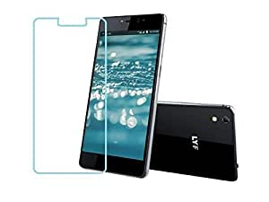 Dashmesh Shopping 2.5D Curved Edge 9H Hardness For Reliance Jio Lyf