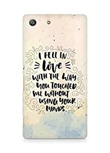 Amez I fell in Love with You Back Cover For Sony Xperia M5