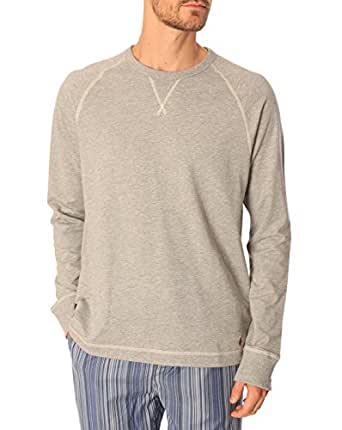 Polo Ralph Lauren Homme Longsleeved Crew , Gris, Small