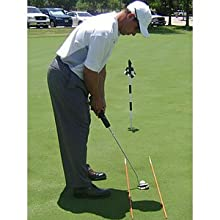 Golf Alignment Practice Sticks Orange 2 poles per pack – The cheapest most effective practice aid you will ever buy!