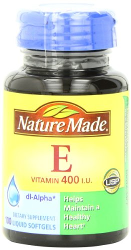 Nature Made Vitamin E 400IU, 100 Softgels (Pack of 3)