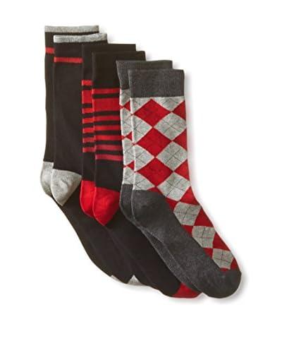 Ben Sherman Men's Benjamin Crew Sock - 3 Pack