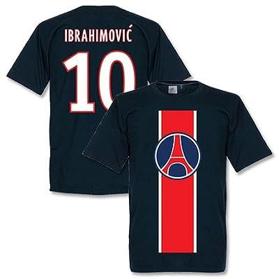 Paris Ibrahimovic Tee - Navy - S